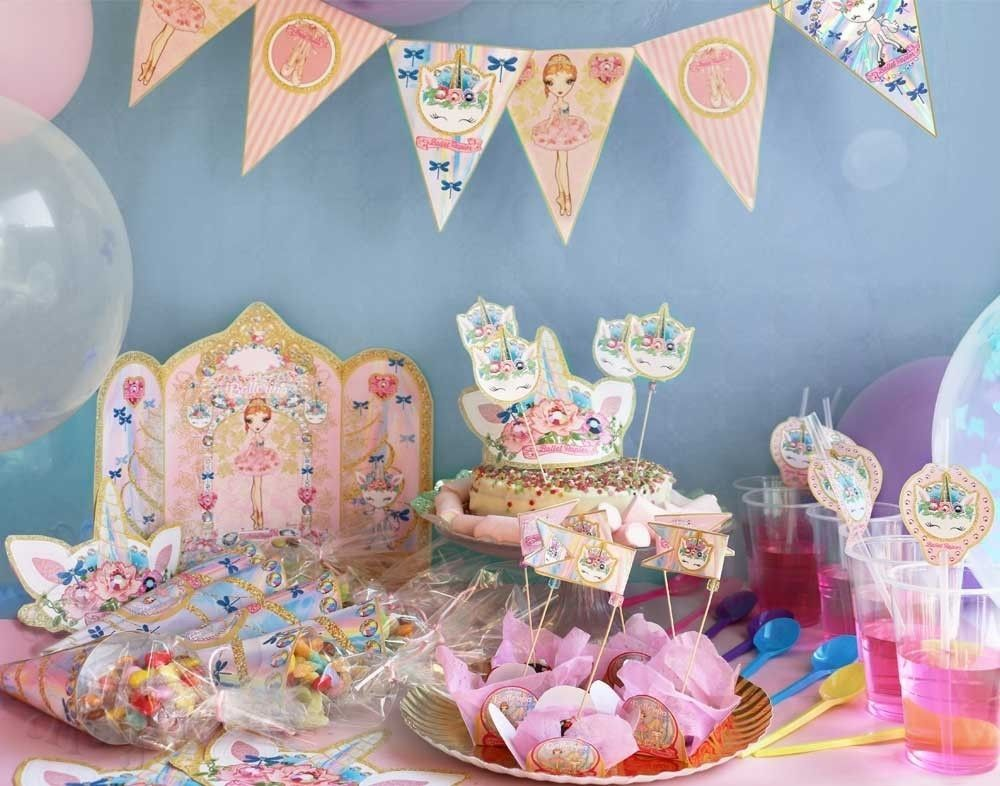 Ballerina and Unicorn Party...