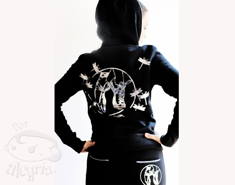 Dance Mood Black Activewear...