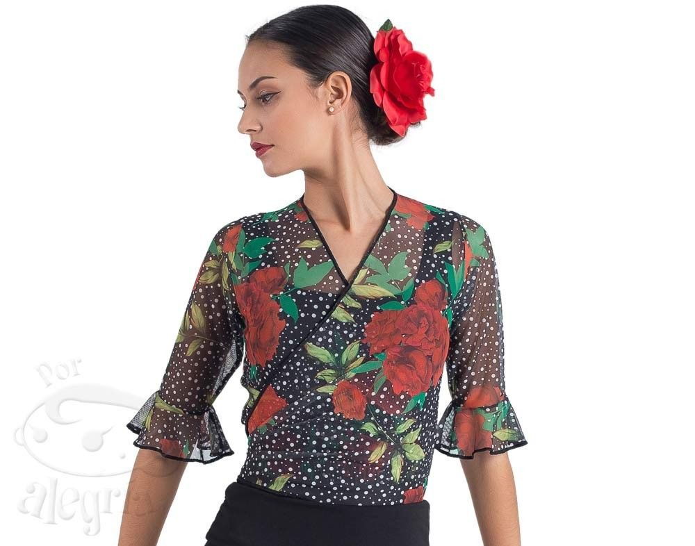 Chaquetilla Flamenco Topitos