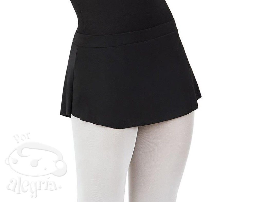 Curved Pull-On Skirt Capezio