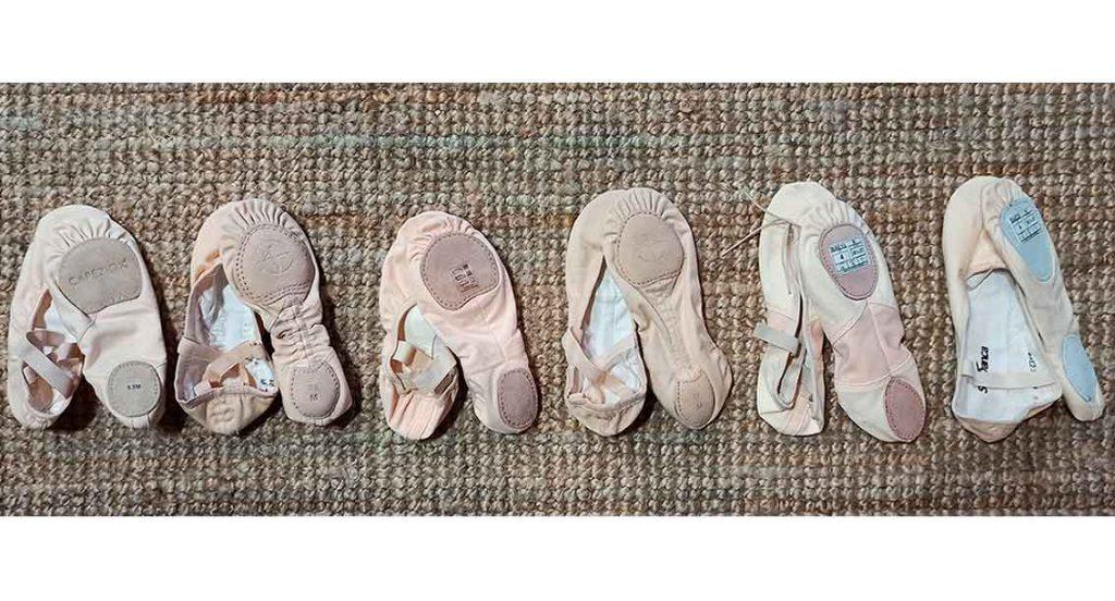 zapatillas tela suela partida